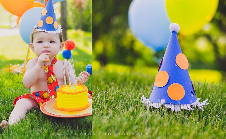 Today You Are You! : Lorax Birthday Boy Cake smash | Sandpoint idaho children baby photographer | Janel Gion Photography