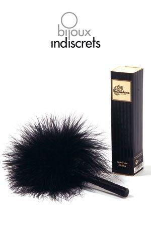 Plumeau SM Noir Bijoux Indiscrets Tickle me Tickler