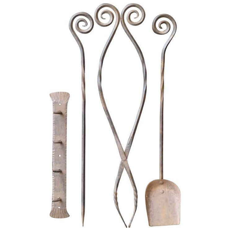 Fireplace Design wrought iron fireplace tools : 26 best images about Antique fireplace tool sets on Pinterest