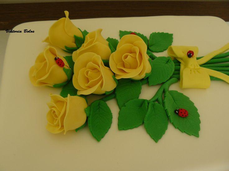 Rosas amarellas
