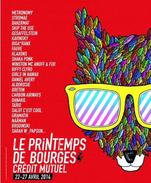 Οι 40 πιο όμορφες αφίσες γαλλικών μουσικών φεστιβάλ, για το 2014