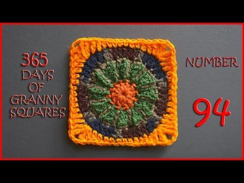365 Days of Granny Squares Number 94 - YouTube