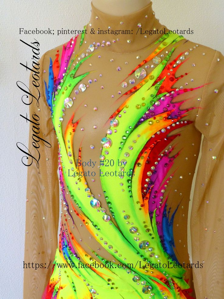 We make #RhythmicLeotards.  See the latest #LegatoLeotards here -> https://www.facebook.com/LegatoLeotards.  #CustomLeotards