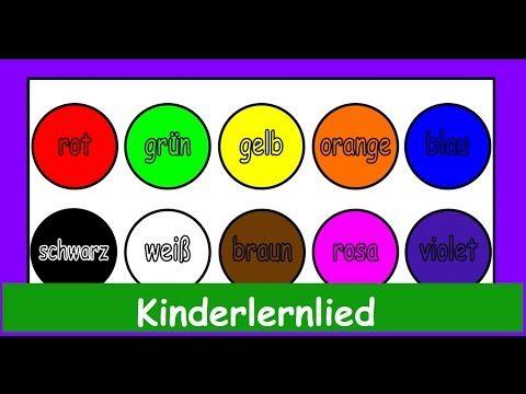 Der Farbenlieder Mix in Deutscher Sprache! Wir lernen die Farben ;)) Yleekids Deutsch - YouTube
