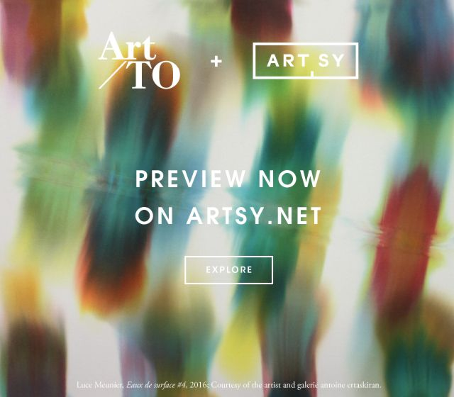 Get a first-look of Art Toronto on Artsy!