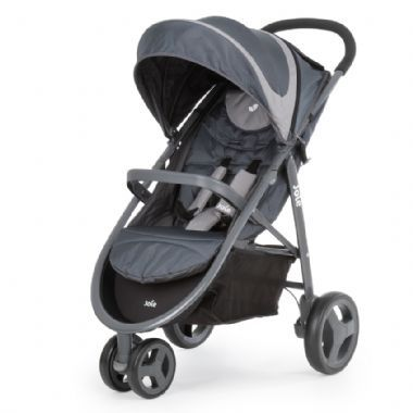 The Joie Baby Litetrax Travel System includes 3 Wheel Pram & Infant Carrier