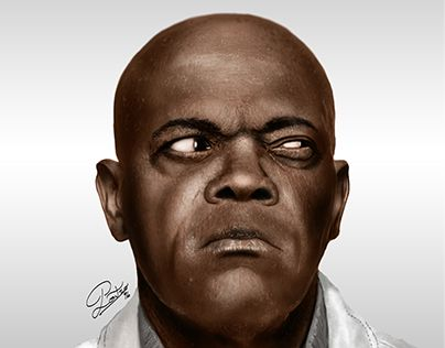"Check out new work on my @Behance portfolio: ""Samuel L. Jackson"" http://be.net/gallery/41414209/Samuel-L-Jackson"
