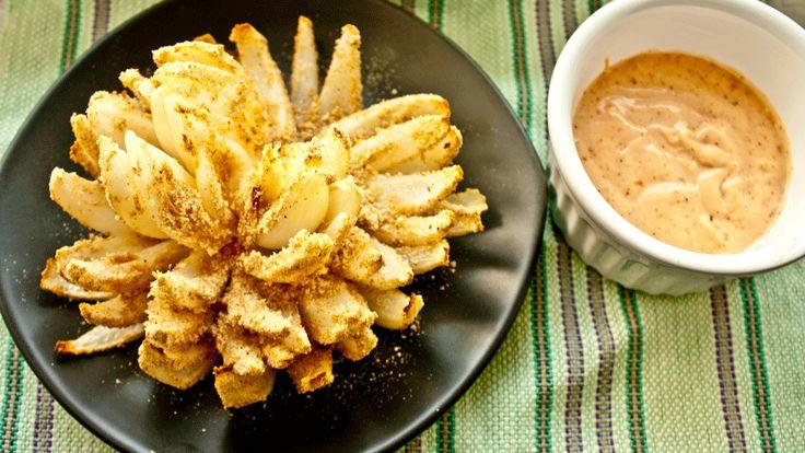 Baked Blooming Onion - - Oven Mitt Adventures