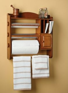 Nifty Kitchen Organizer Especially The Three Holders For
