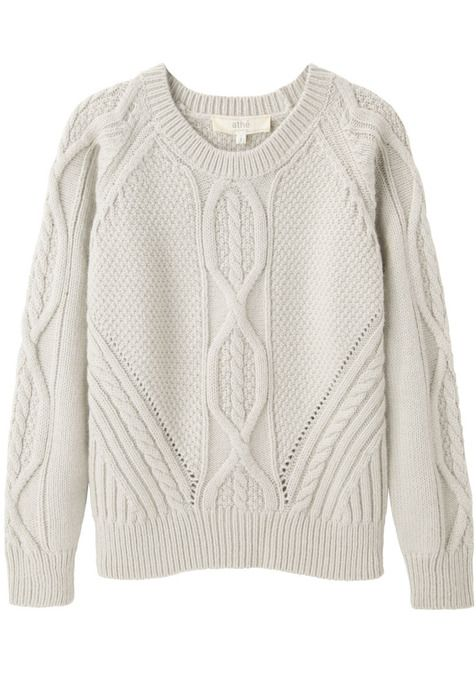 Cable Knit Pullover by Vanessa Bruno Athé