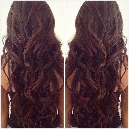 love this, makes me wanna dye my hair back to dark brown (: