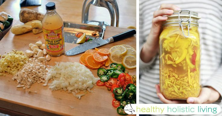 Fire Cider Recipe...How to Supercharge Apple Cider Vinegar With Turmeric, Ginger, Lemon and Garlic