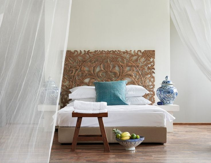 Bedroom Decoration - Ethnic Style - Interior Design - Decoration Ideas - Boutique Hotel Room