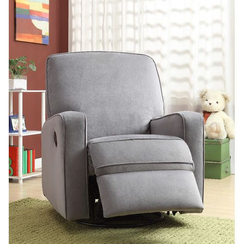 Found it at Wayfair - Maple Sylvie Swivel and Glider Recliner