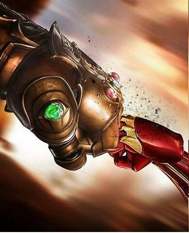 Avengers Infinity War Iron Man Vs Thanos