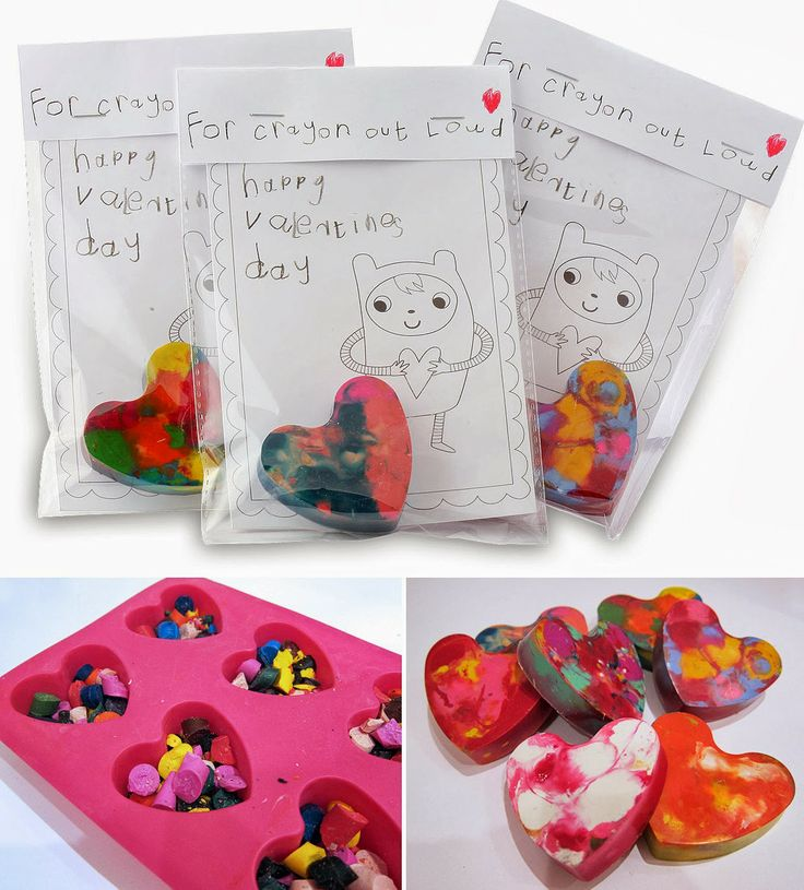 VALENTINE CRAYON HEARTS - For Crayon Out Loud !!   MollyMooCrafts.com
