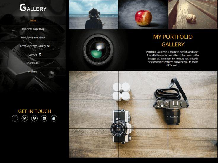 46 best Free WordPress Photography Theme images on Pinterest ...