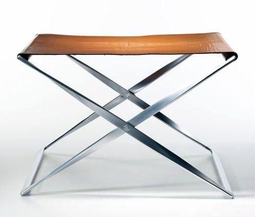 poul kjaerholm-pk41 folding stool 1961 For Fritz Hansen