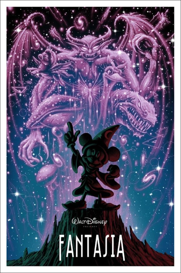 "UPDATED: New Mondo Disney Posters for ""Nothing's Impossible"" 