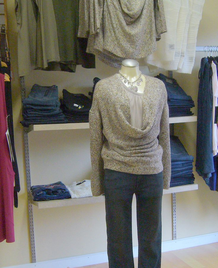 press Cowl neck sweater - in stock