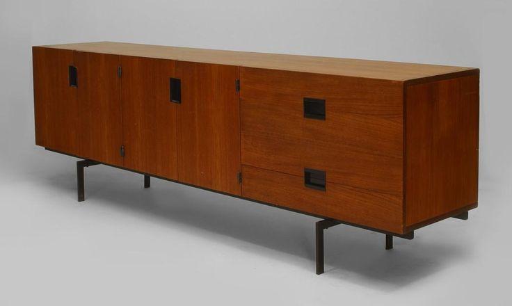 Post-War Design Scandinavian cabinet/case-piece sideboard teak