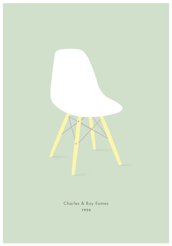 6x Eames stoelen in huis, maar dan low-budget - Roomed   roomed.nl