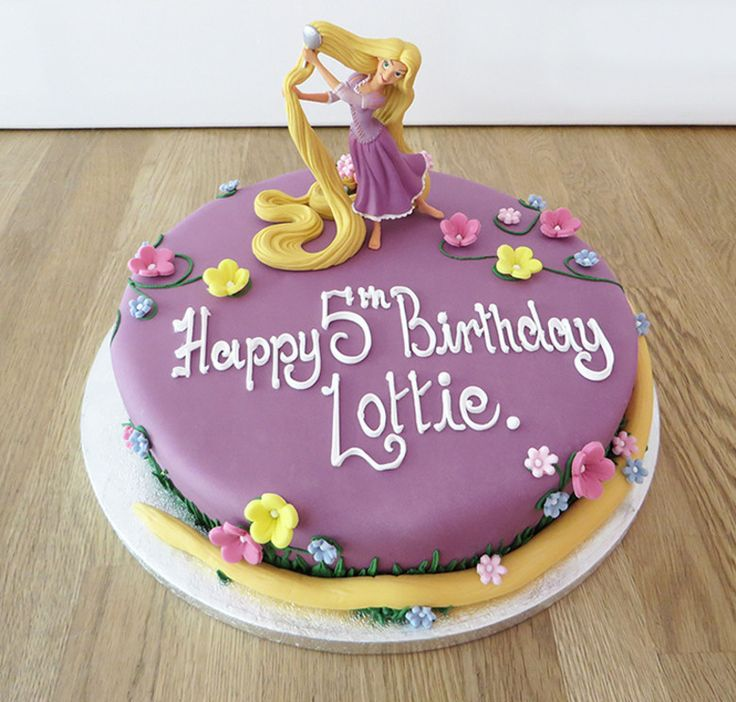 Cake Decorations For Birthday Party : 25+ best ideas about Rapunzel Cake on Pinterest Rapunzel ...