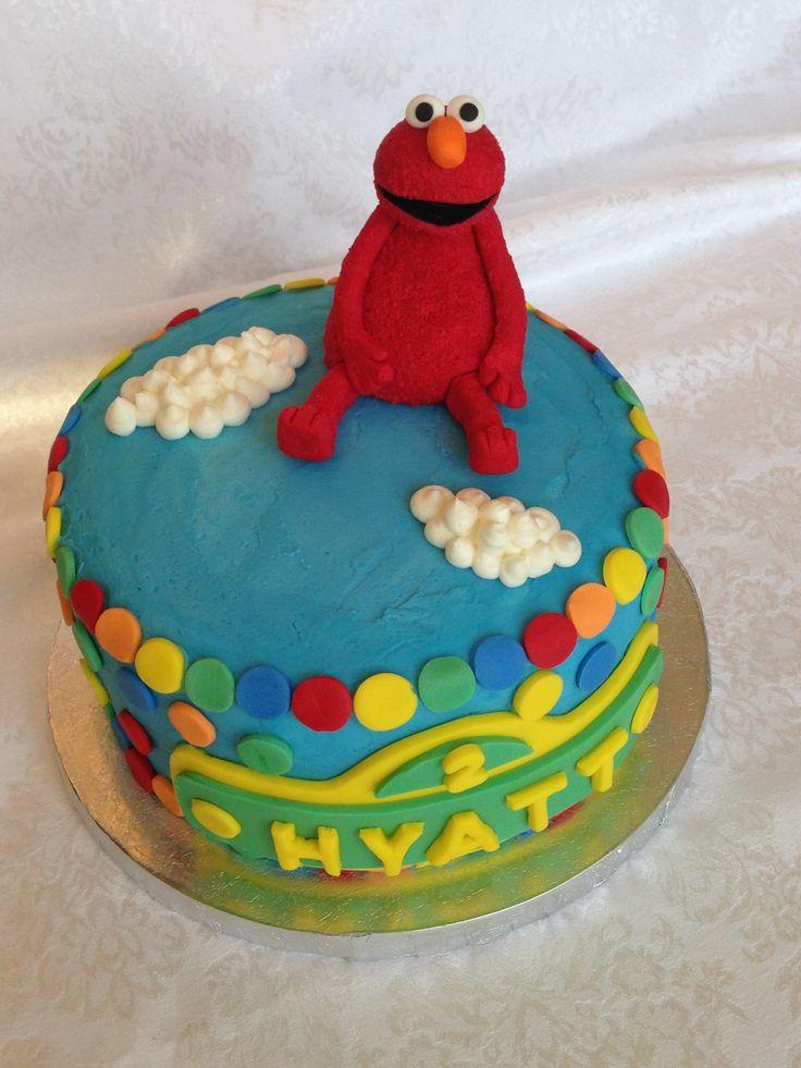 Elmo Rainbow cake by KoekSister Cakes! Cake, Rainbow
