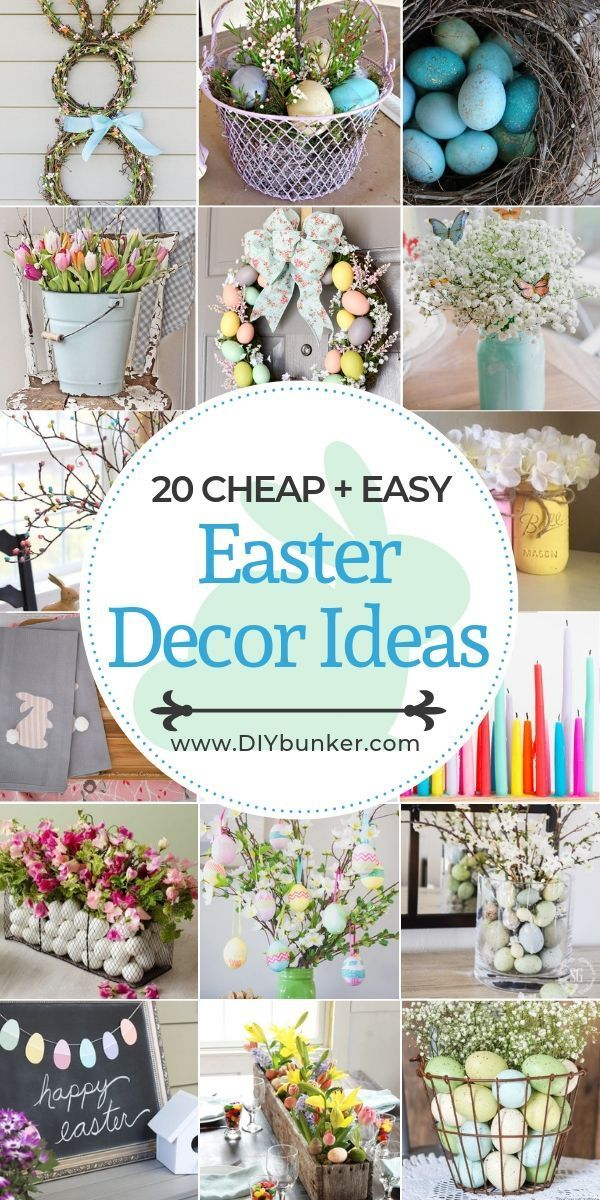 Easter Home Decor Ideas You Don T Have To Hunt For Diy Easter