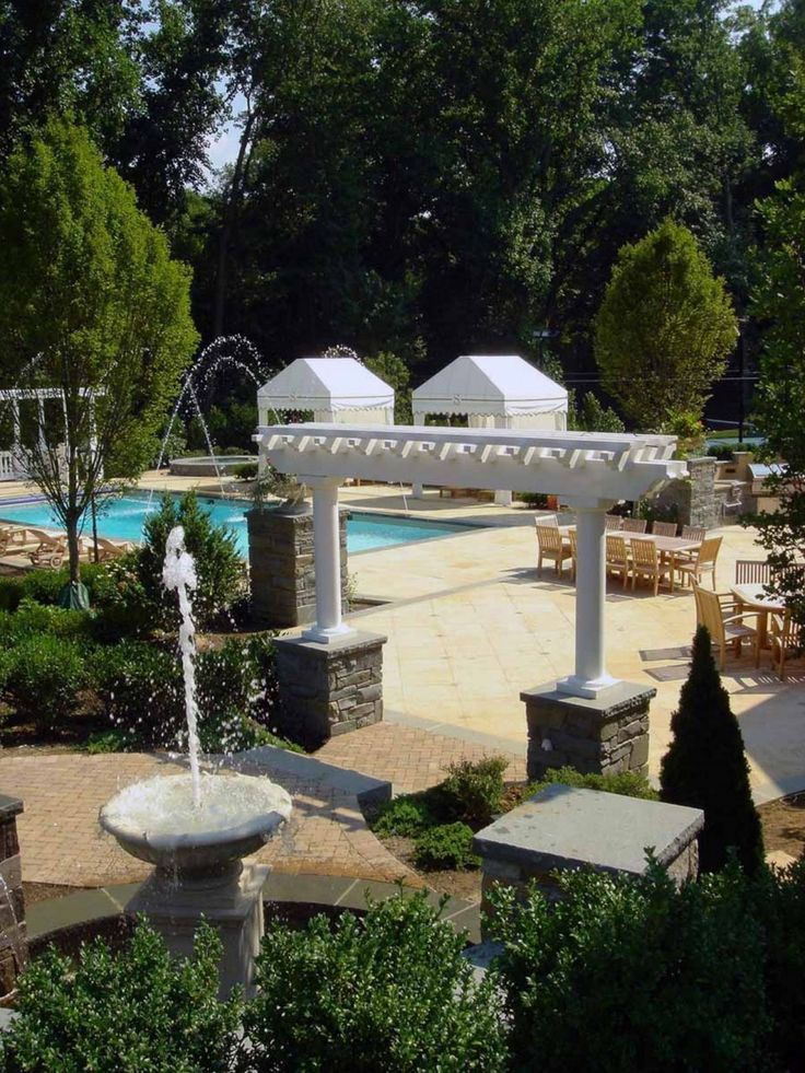 111 best exterior images on pinterest pools backyard for Pool design handbook