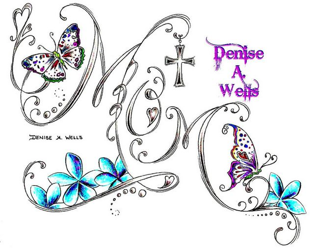 mother and child tattoo designs | Mom Tattoo by Denise A. Wells | Flickr - Photo Sharing!