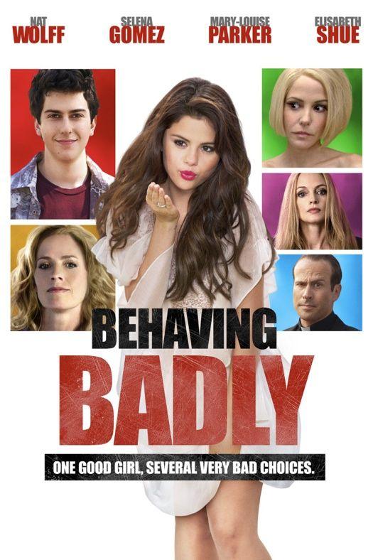 "Selena Gomez ""Behaving Badly"" Movie Poster Arrives"