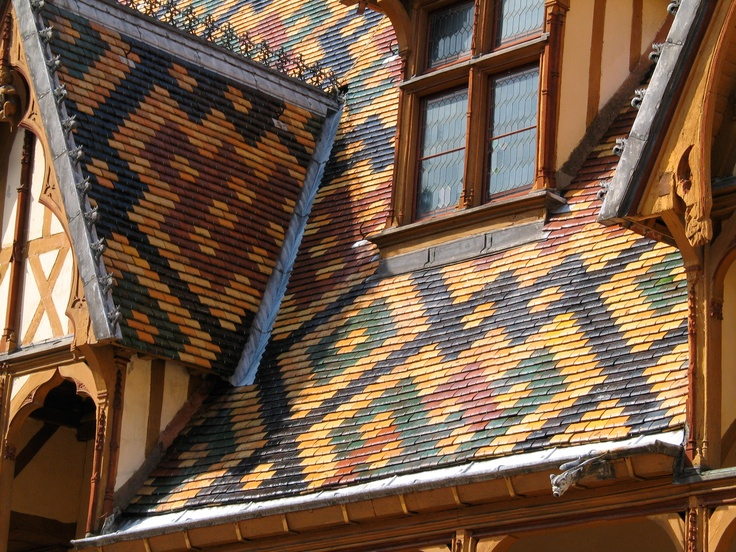 Best Roof Tiles On The Hospices De Beaune Burgundy France Buildings Stairs Doors Etc 400 x 300