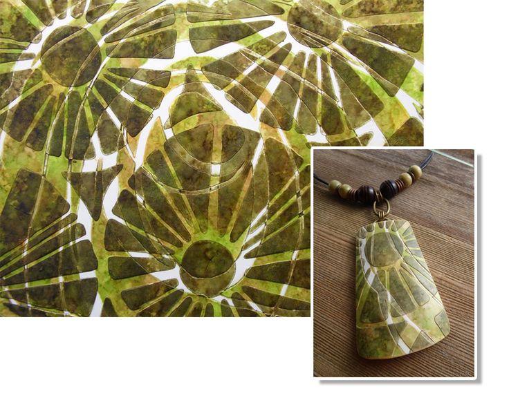 Lorraine Vogel: Creating Jewelry with StencilGirl stencils