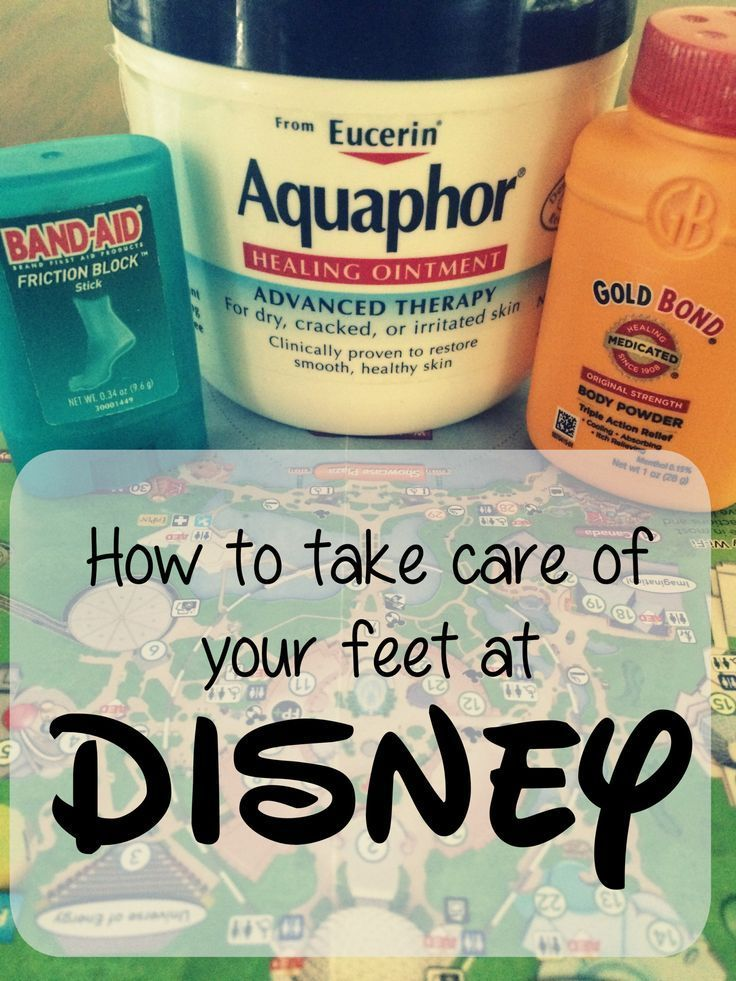 The best tips of taking care of your feet at Disney World!
