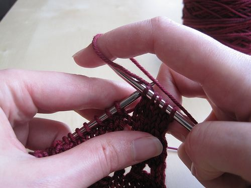 25 best images about Knit T&T - Yarn Overs (YO) on Pinterest To fix, Tr...