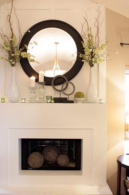 Details in Black Hearth Decorations #interiordesign
