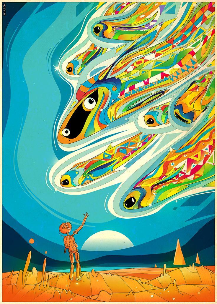 Matei Apostolescu - Illustrations (slide show portfolio)