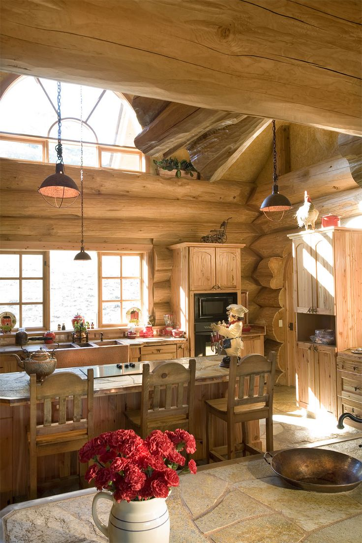 97 best dream kitchen yes one day images on pinterest dream a handcrafted energy efficient log home in california