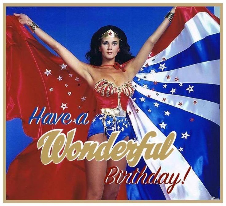Happy Birthday Funny For Women Sexy Wonder Woman Bi...
