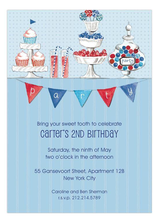 205 best boys birthday party ideas images on pinterest birthday candy buffet blue boys birthday party invitation idea stopboris Images