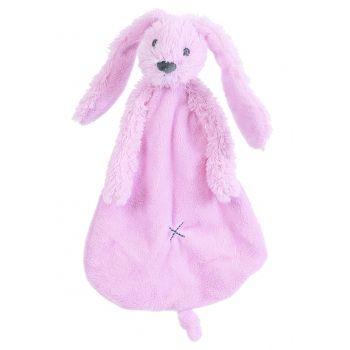 Roze tuttel konijntje Richie. Zacht roze tuttel konijntje van het merk Happy…