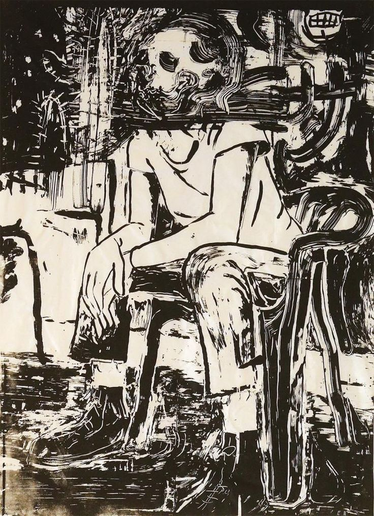 Close and Loud by Sally Santana #art #artist #painting #drawing - Beauton Art Gallery - http://beautonart.com   http://beautonart.dk