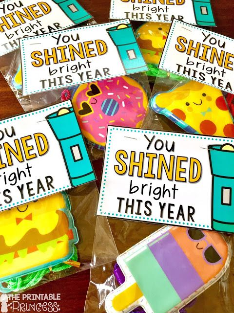 Inexpensive and EASY ideas for end of the year gifts for students. Everything was found in the Dollar Spot at Target! Includes FREE gift tags that you can download and use. Doesn't get much easier than that!!!