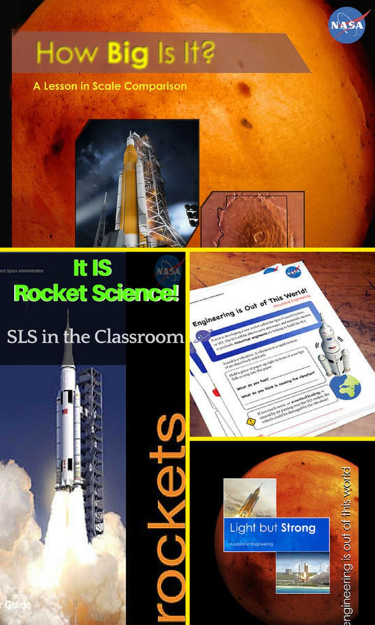 SLS in the Classroom (Grades K-12): STEM activities help students learn about rockets and the Space Launch System, the rocket that will take humans farther than we've ever gone. Engineering lessons. Math lessons. Rocketry lessons. Printable coloring pages. Free STEM lesson plans.