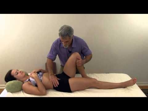 Psoas Trigger Point Release - Back, Oblique, Groin & Hip Pain - Self Massage - YouTube