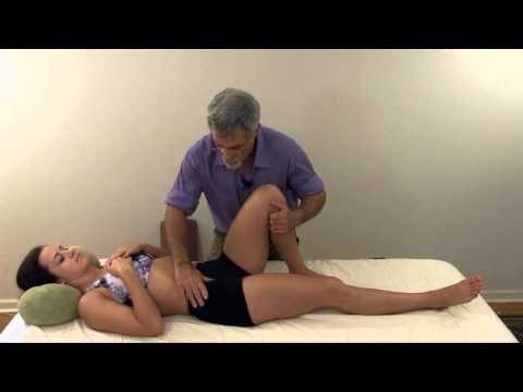 Psoas Trigger Point Release - Back, Oblique, Groin & Hip Pain - Self Massage - YouTube