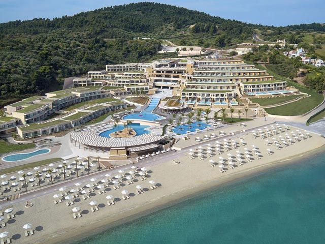 Miraggio Thermal Spa Resort Hotel 5 Stars luxury hotel in Kassandra - Pefkochori Offers Reviews