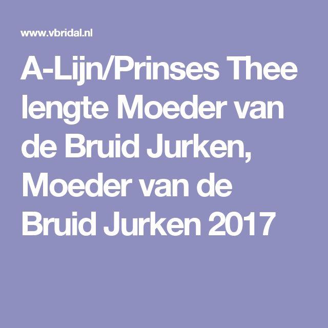 A-Lijn/Prinses Thee lengte Moeder van de Bruid Jurken, Moeder van de Bruid Jurken 2017