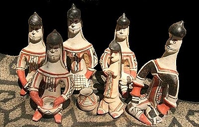 Artesanato indigena tribo Karajá